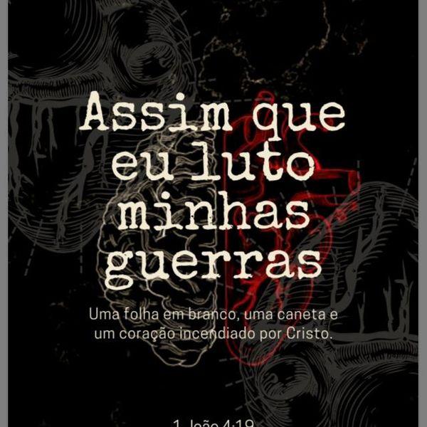 Imagem principal do produto ASSIM QUE EU LUTO MINHAS GUERRAS