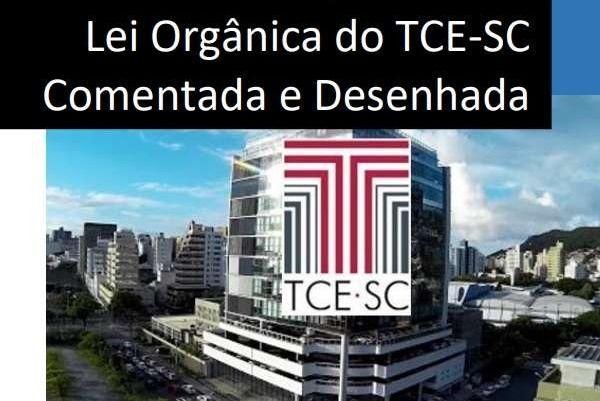 Lei Orgânica do TCE-SC Comentada e Desenhada