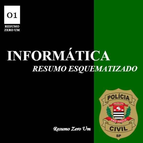 Imagem principal do produto Informática para Investigador de Polícia PC/SP