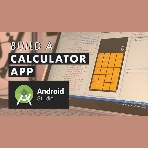 Imagem principal do produto Create a Calculator Application in Android Studio