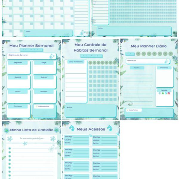 Imagem principal do produto Kit Planner e Monitorador/Controle de Hábitos