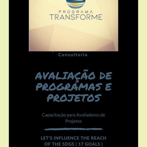 Imagem principal do produto Consultoria para Capacitação de Avaliadores de Programas e Projetos.