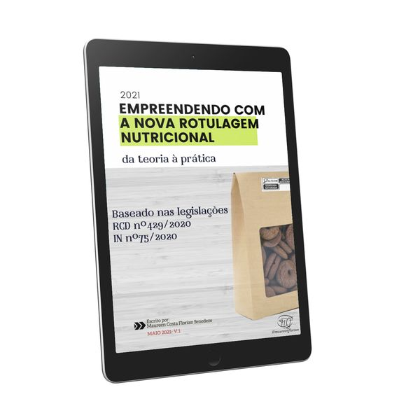 Imagem principal do produto EMPREENDENDO COM A NOVA ROTULAGEM NUTRICIONAL- da teoria à prática