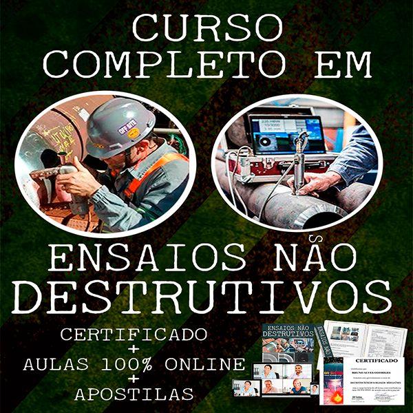 Imagem principal do produto CURSO DE TECNOLOGIA DE ENSAIOS NÃO DESTRUTIVOS - END
