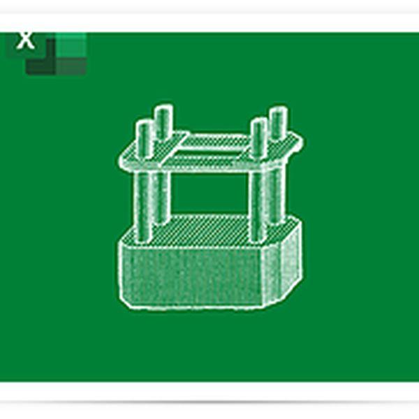 Imagem principal do produto Dimensionamento de Pilar de Concreto Armado