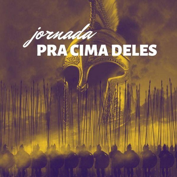"""Imagem principal do produto Jornada """"Pra Cima Deles"""""""