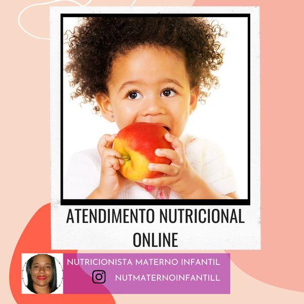 Imagem principal do produto Atendimento nutricional online (Nutricionista maternoinfantil)