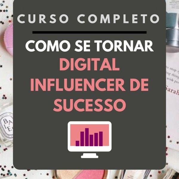 Imagem principal do produto COMO SE TORNAR UM DIGITAL INFLUENCER DE SUCESSO