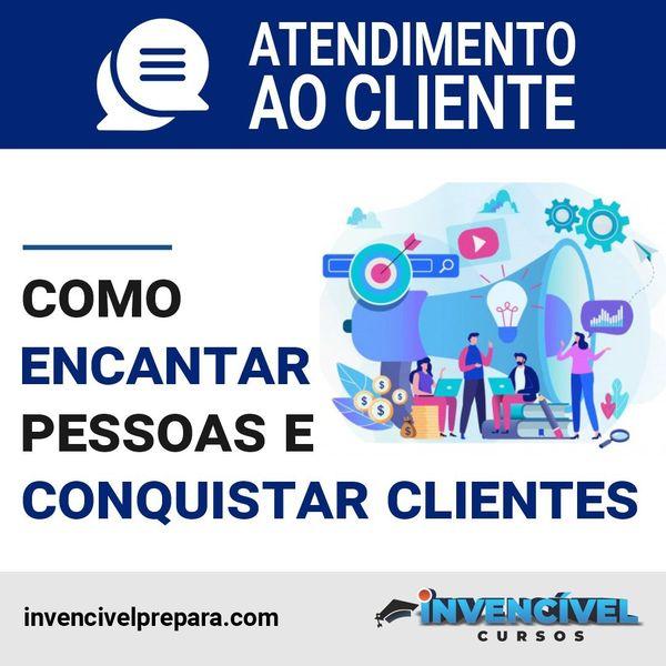 Imagem principal do produto ATENDIMENTO AO CLIENTE: Como encantar clientes