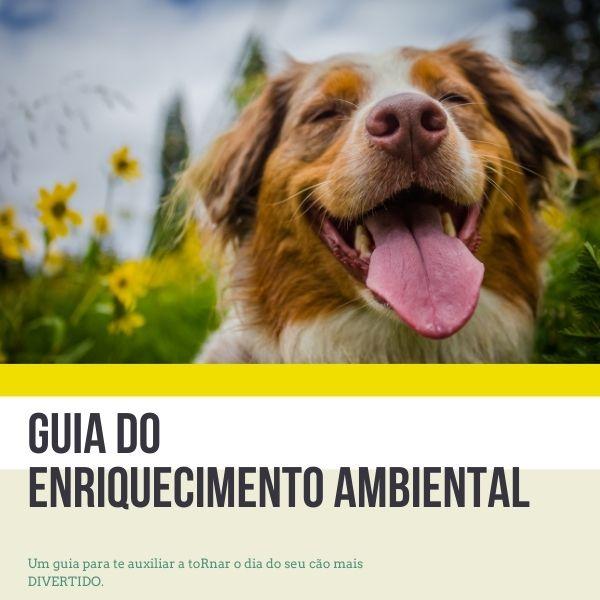 Imagem principal do produto Guia de enriquecimento ambiental para cães