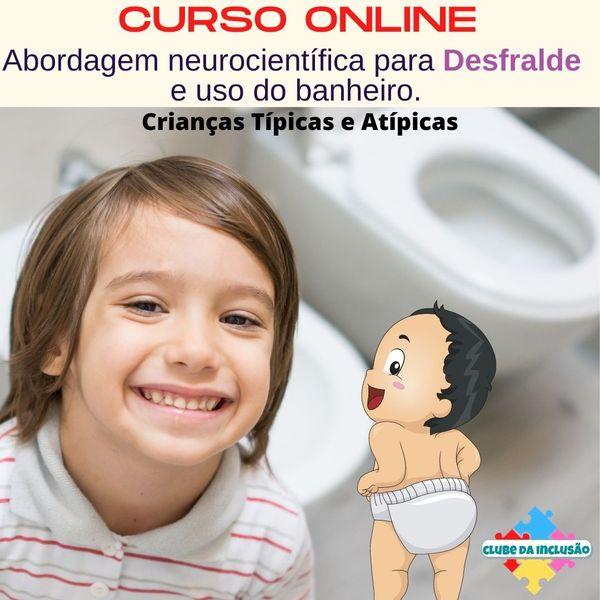 Imagem principal do produto Desfralde e uso do banheiro - Para crianças típicas e atípicas
