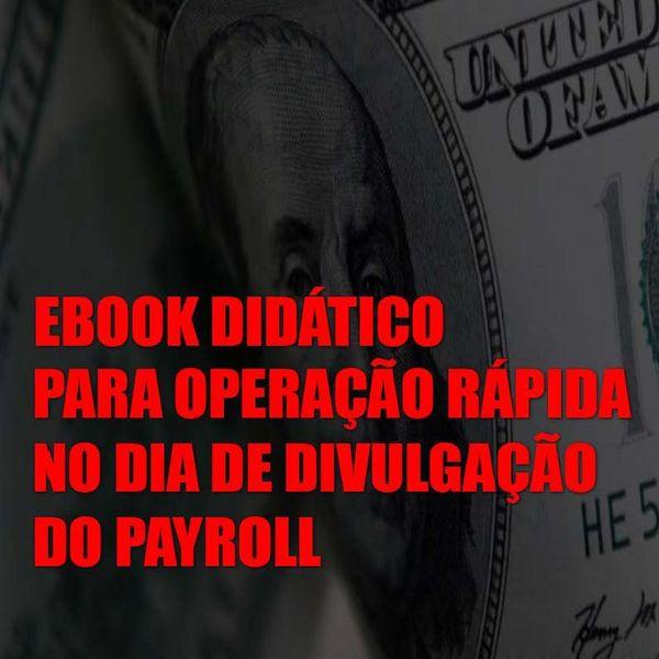 Imagem principal do produto Ebook Didático para operação rápida no dia de divulgação do Payroll