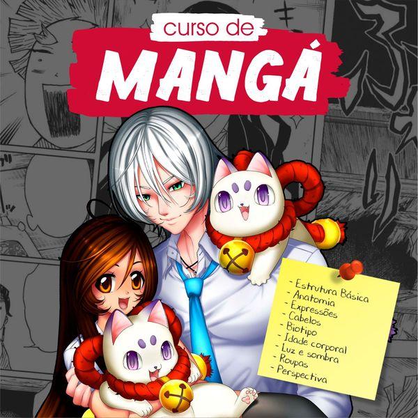 Imagem principal do produto CURSO DE MANGÁ | Vol. 01