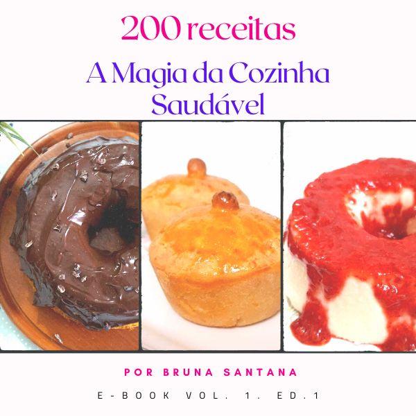 Imagem principal do produto 200 RECEITAS SAUDÁVEIS