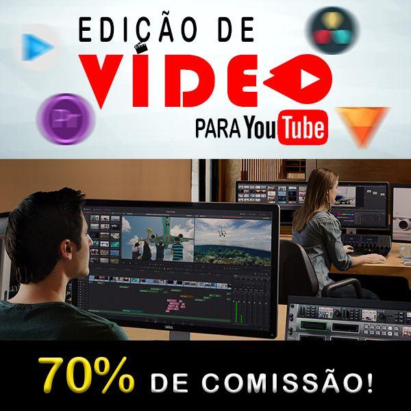 Imagem principal do produto Edição de Vídeo Para Youtuber