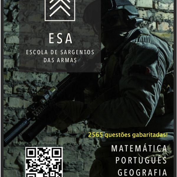Imagem principal do produto Apostila-Curso para o Concurso da ESA - ESA em Bizus