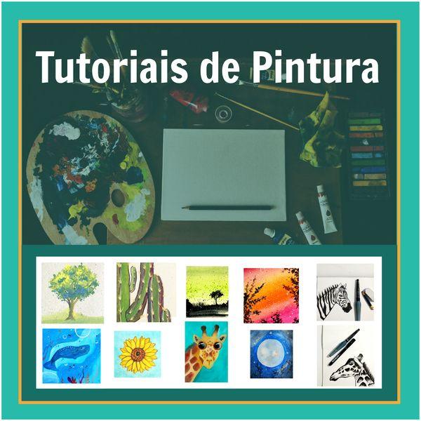 Imagem principal do produto Curso de Pintura - Gouache, Aquarela e Nanquim