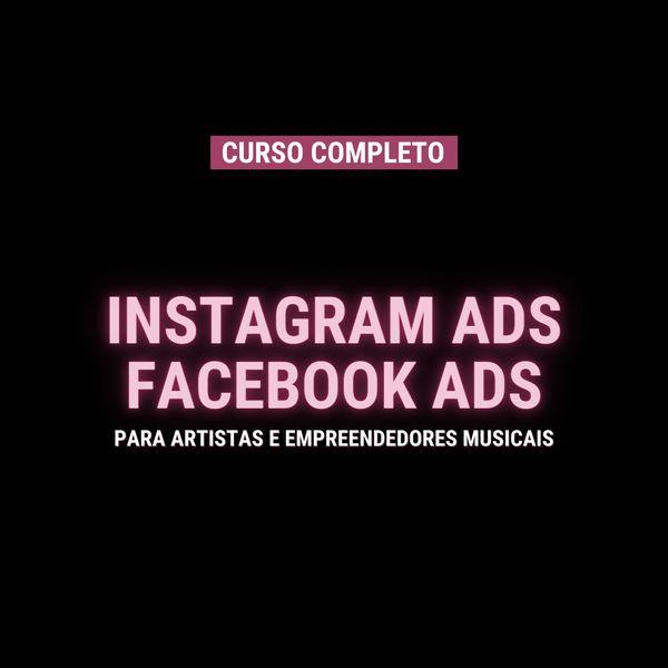 Imagem principal do produto Curso Instagram ADS e Facebook ADS