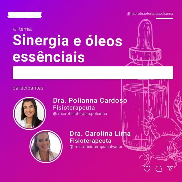 Imagem principal do produto CURSO BÁSICO DE SINERGIAS COM ÓLEOS ESSENCIAIS