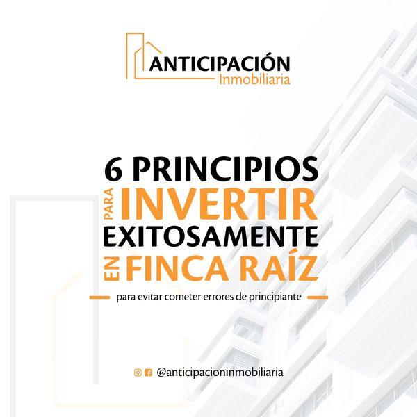 Imagem principal do produto 6 Principios para invertir exitosamente en finca raíz