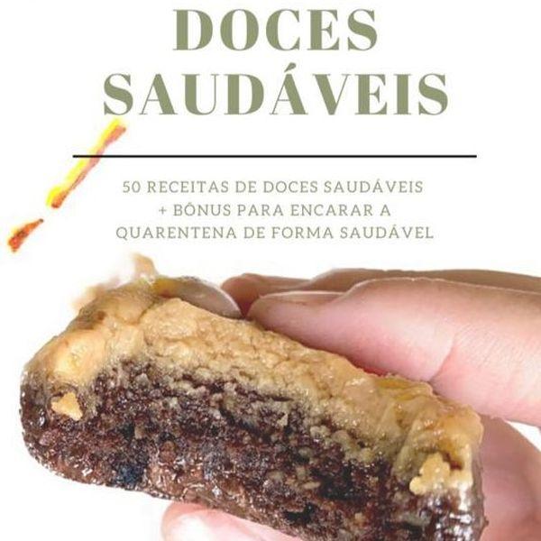 Imagem principal do produto E-book de Receitas Doces Saudáveis