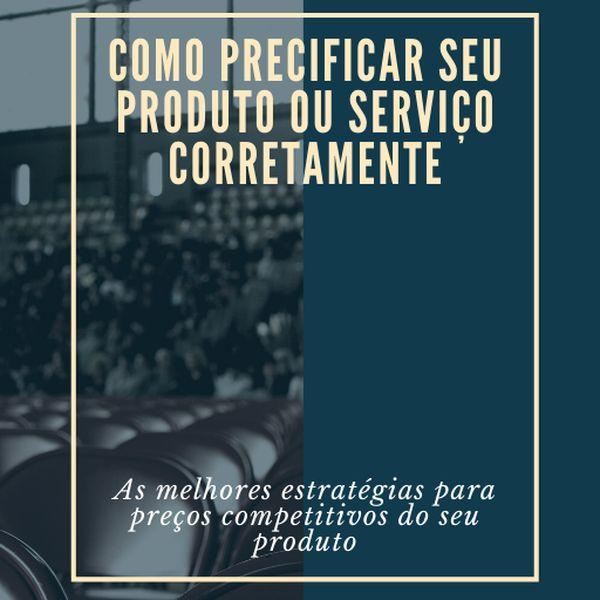 Imagem principal do produto Como precificar seu produto ou serviço corretamente