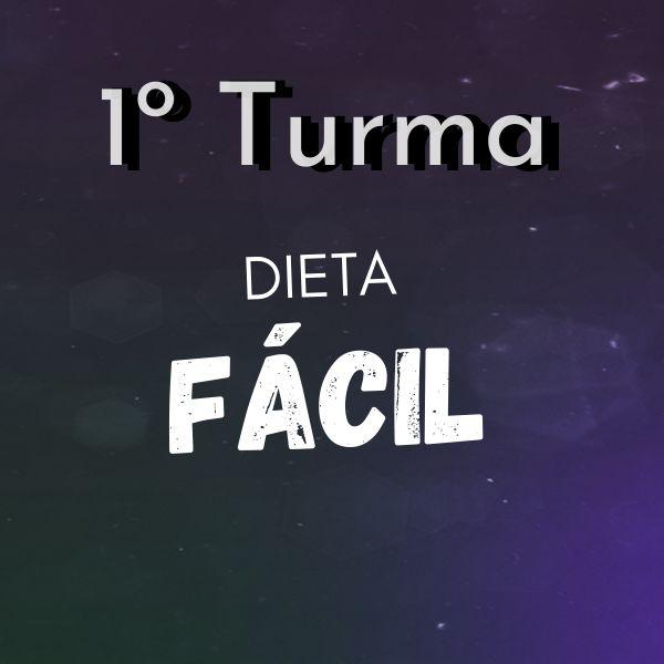 Imagem principal do produto 1º TURMA DIETA FÁCIL