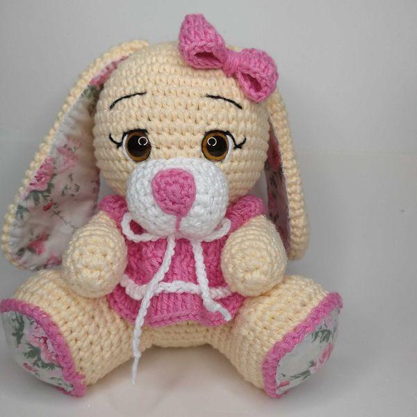 Imagem principal do produto E-book Coelha Aurora Amigurumi