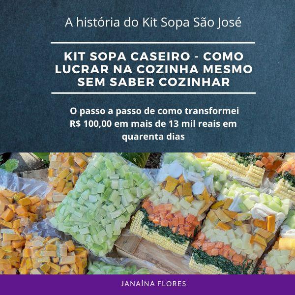 Imagem principal do produto Kit Sopa Caseiro - Como lucrar na cozinha mesmo sem saber cozinhar
