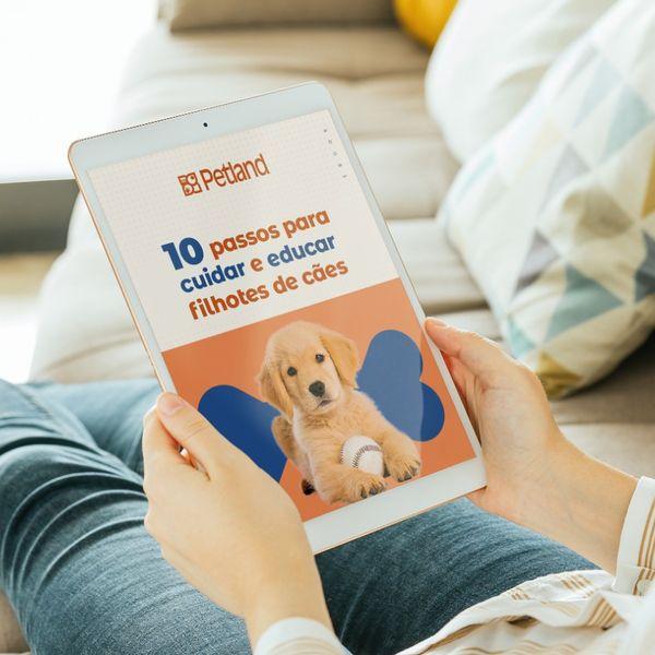 Imagem principal do produto 10 Passos Para Cuidar e Educar Filhotes de Cães