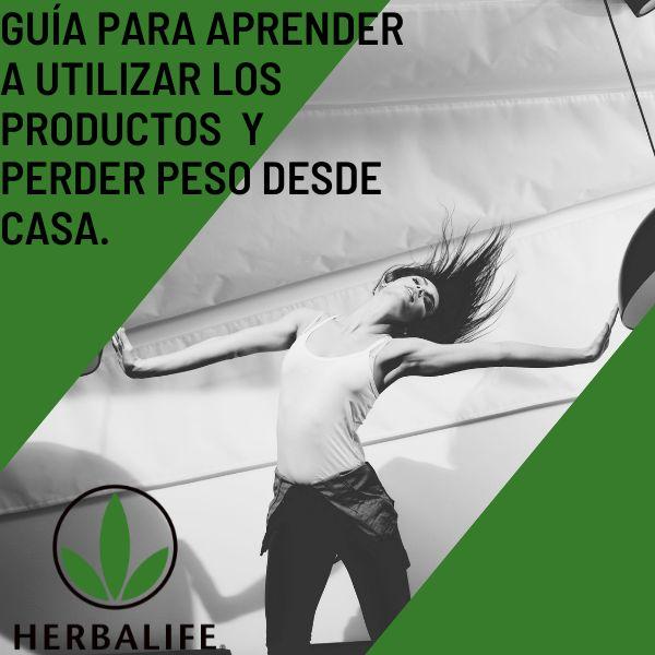 Imagem principal do produto Baja de peso con Herbalife La MEJOR guía para perder peso