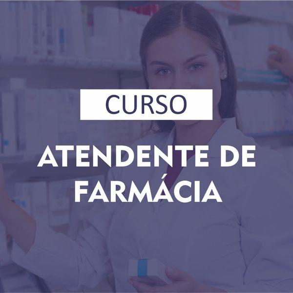 Imagem principal do produto Curso Atendente de Farmácia EaD