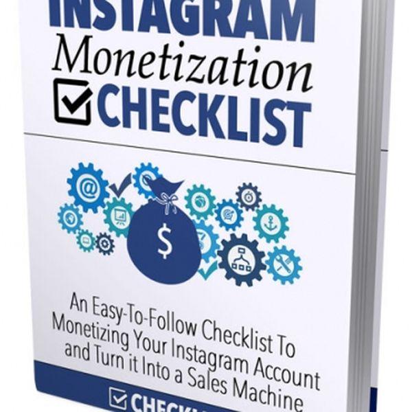 Imagem principal do produto Instagram Monetization Checklist
