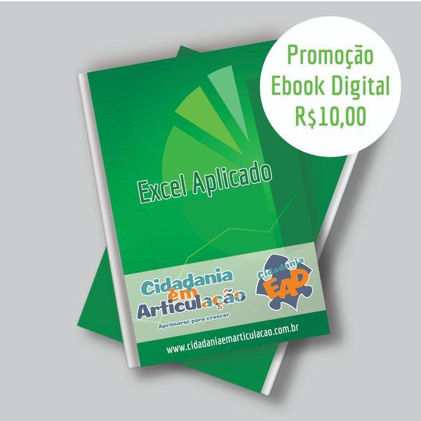 Imagem principal do produto Ebook Digital de Excel Aplicado