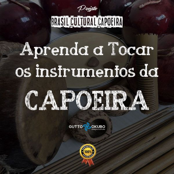Imagem principal do produto Aprenda a tocar os instrumentos da Capoeira.