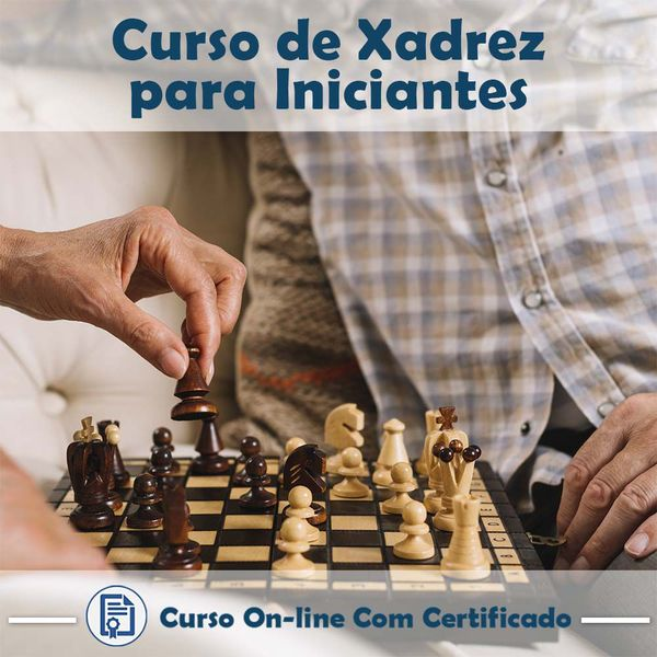 Imagem principal do produto Curso de Xadrez para Iniciantes