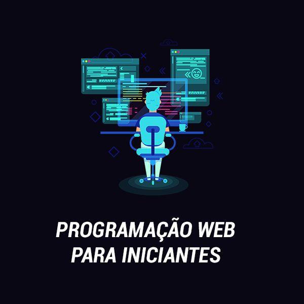 Imagem principal do produto Curso de Programação Web para Iniciantes
