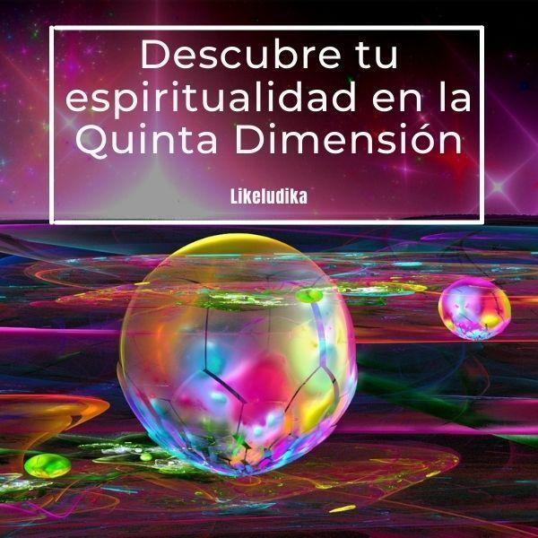 Imagem principal do produto Descubre tu espiritualidad en la Quinta Dimensión