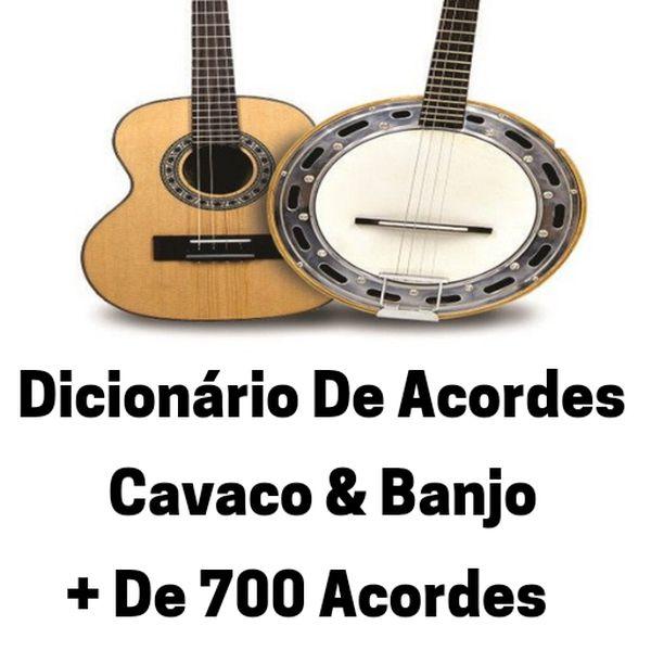 Imagem principal do produto Dicionário De Acordes Cavaco & Banjo Com + De 700 Acordes