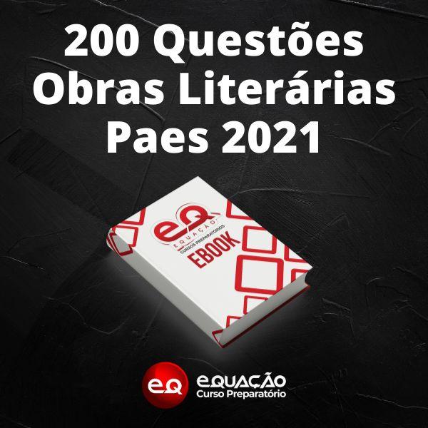 Imagem principal do produto 200 Questões Obras Literárias Paes Uema 2021