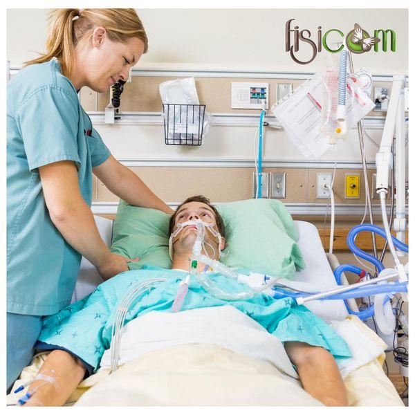 Imagem principal do produto FISICOM: FISIOTERAPIA RESPIRATÓRIA APLICADA AO ATENDIMENTO DOMICILIAR, ENFERMARIA E UNIDADE DE TERAPIA INTENSIVA - UTI