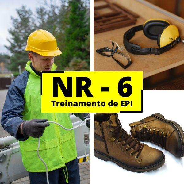 Imagem principal do produto Curso NR 06 - EPI Equipamento de Proteção Individual