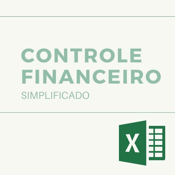 Imagem principal do produto Controle Financeiro - Mensal