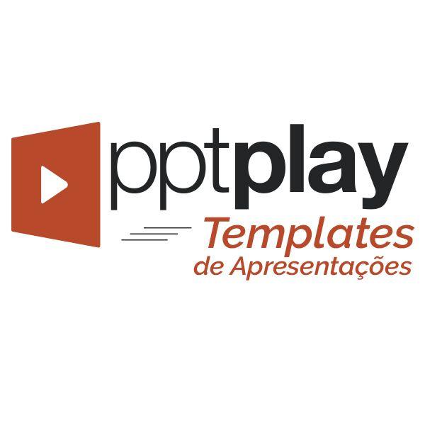 Imagem principal do produto Kit de Templates para Apresentações - PPTPlay