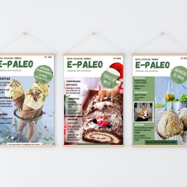 Imagem principal do produto E-Paleo Assinatura 4 Revistas MAI/JUN 2021 até NOV/DEZ 2021