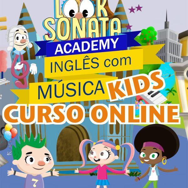 Imagem principal do produto Inglês com Música - Look Sonata Academy
