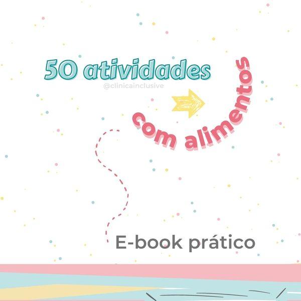 Imagem principal do produto E-book 50 atividades com alimentos