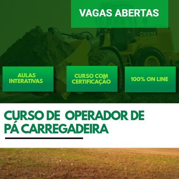 Imagem principal do produto CURSO DE OPERADOR DE PÁ CARREGADEIRA