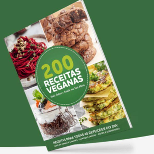 Imagem principal do produto 200 Receitas Veganas (Nutrição e alimentação)