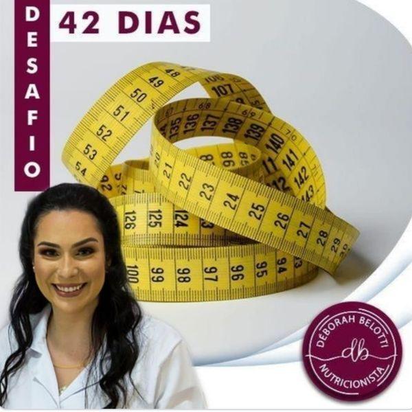 Imagem principal do produto  PENSE MAGRO - DESAFIO 42 DIAS - 100% ONLINE